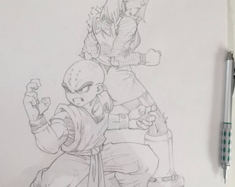 Krillin and Android 18: The Power Couple
