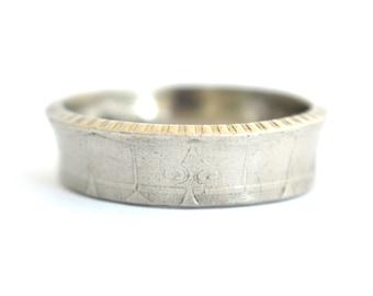 Coin Ring/ Münzring size/ Größe (US) 9 - 11