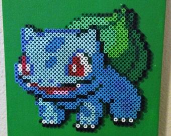Bulbasaur Pokemon Perler Art