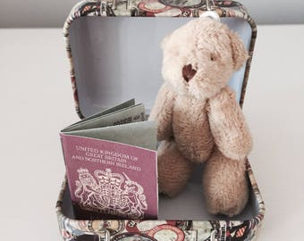 Personalised Miniature Travelling Ted