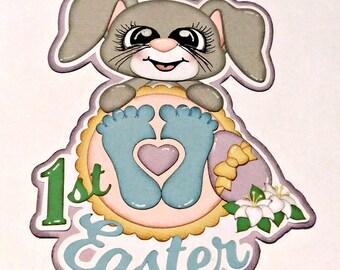 Baby's 1st Easter Scrapbook Paper Piecing