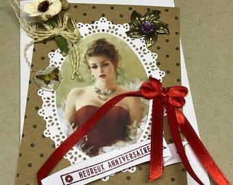 The romantic woman