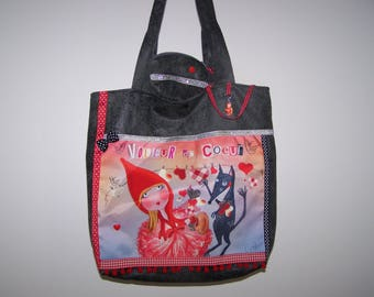 "Original bag ""Thief of hearts"" with its matching coin purse"