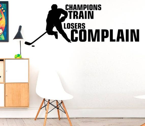 Motivational Quotes For Sports Teams: Champions Train Losers Complain Hobby Play Check PlayWall