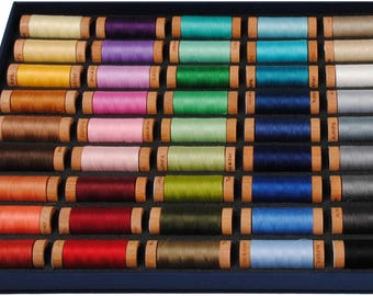 Aurifil Best Selection 80wt Cotton Thread Set - 45 Small Spools