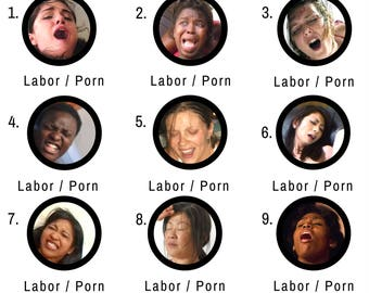 Labor or Porn Baby Shower Game