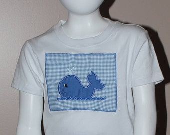 Boys or Girls Whale Shirt
