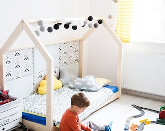 amazing house bed montessori style natural eco