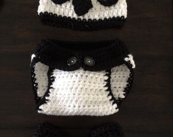 Baby Panda Photo Prop