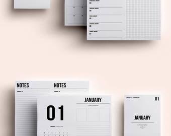 B6 TN Insert | B6 TN Printable | B6 TN Insert January 2018