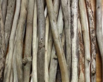 Bulk Driftwood, Bulk Small to Medium Driftwood Pieces, Lake Erie, Surf-Tumbled, Drift Wood use For Frames Wreaths Crafts