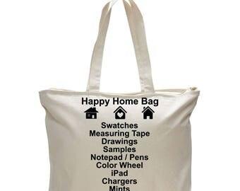 INTERIOR DESIGN BAG Designers Bag Designer Tote Interior Home Design Gift