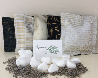 Lavender Scented Sachets, all natural, Greek products, homemade