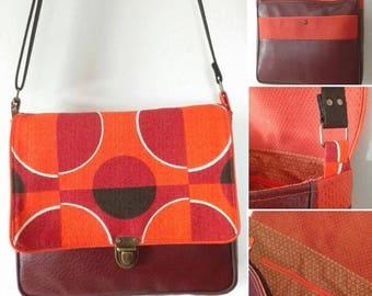 messenger bag / satchel / vintage look messenger bag
