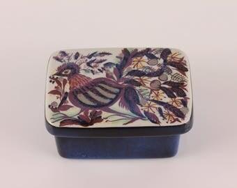 Royal Copenhagen Fajance - Marianne Johnson Butter Box with Lid - Mid Century Modern