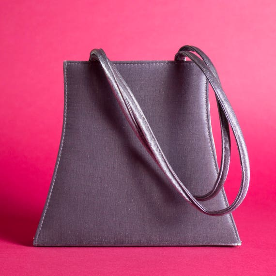 Gunmetal Evening Bag