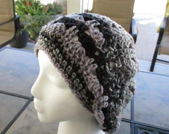 Slouchy Beanie in Multi Color