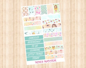 Planner Girl Banners & Flags // Happy Planner // Erin Condren //Personal