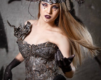 Cosplay, Dress Up, Halloween, Corset, Crown, Cosplay, Armor