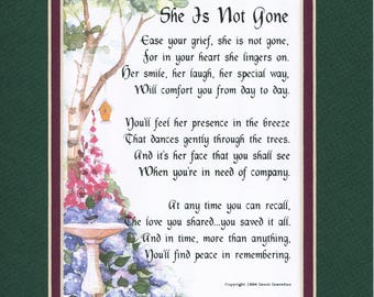 Sympathy Gift, Loss of A Mother, Loss Of A Daughter, Loss Of A Grandmother, Remembrance Gift, Loss Of Sister, Memorial Gift, Funeral Present