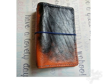 READY TO POST, RemDori Travelers Notebook Leather Journal Fauxdori