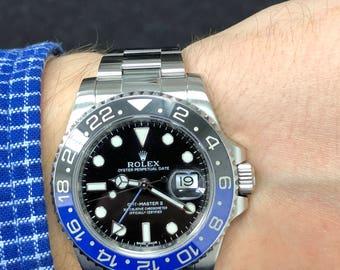 Rolex GMT-Master II 40 mm Ref 116710BLNR, Batman, Stainless Steel, w/ 12m Warranty