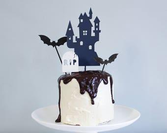 Halloween Cake Topper, Halloween Party 2017, Halloween Signs, Halloween Sign, Halloween Decorations, First Halloween, Halloween Cake Decor