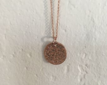 Rose Gold All mixed up Necklace