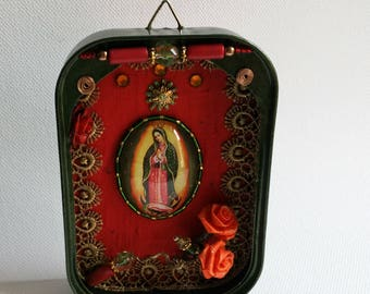Powerful Lady of Guadalupe - shrine / protection against negative energy