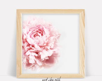 Pink Peonies Print, Peony, Wall Art, Flower Print, Wall Decor, Peonies Photo, Gift for Her, Peonies Print, Floral Poster, Botanical Print