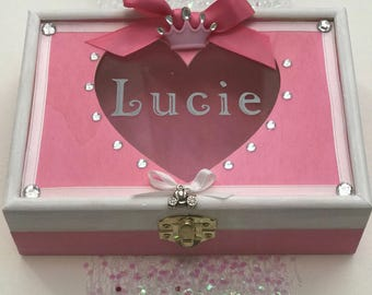 Cinderella Party, Cinderella Jewelry Box, Cinderella Keepsake Box, Princess Party, Princess Jewelry Box