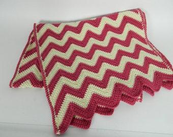 Footboard - zigzag - knitting