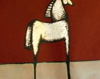 VERTICAL FIGURATIF ART #Horse2CO1
