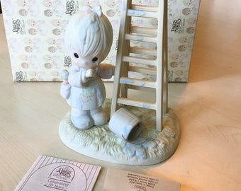Vintage Precious Moments My Days Are Blue Without You Figurine 520802