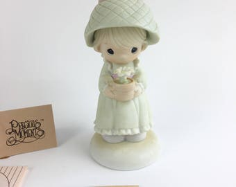 Vintage Precious Moments His Love Will No Longer Shine Easter Seals Limited Edition 1989 Figurine 522376