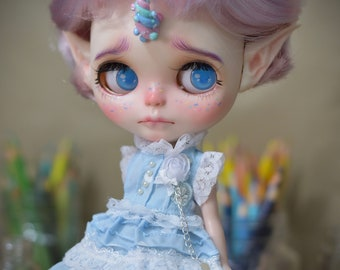 B#042 Blythe Custom Doll  OOAK