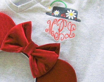 Practically Perfect Monogrammed Tee