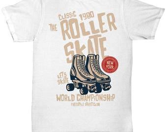 1980 Classic Roller Skate T-shirt