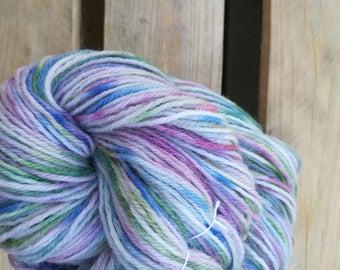 May Garden Handdyed Yarn – Fingering / sport - laine teinte knitting tricot
