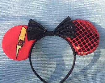 Cars Lightning McQueen Disney inspired mickey ears