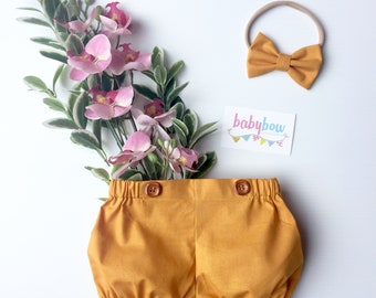 Claire flat front bloomers / shorts