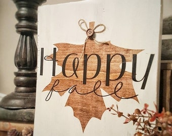 Fall Sign Fall Decor Home Decor Farmhouse Fall Decor Farmhouse sign Fall Sign Fall Farmhouse Sign