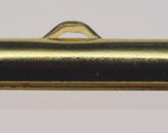 Slider Ends 24MM Gold 10pc