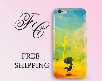 iPhone 7 Case iPhone 6 Case Umbrella Case iPhone 6s Case Telephone Cell Phone Case Watercolor iPhone 7 Plus Case iPhone SE Case Phone acc