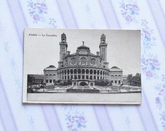 Unwritten postcard, Paris, 1910, Le Trocadéro,