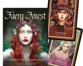 Ten dollar ten card Faery Forest Oracle card reading