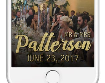 Wedding Snapchat Filter, Wedding Snap Chat Filter, Wedding Snapchat Geofilter, Wedding Geofilter