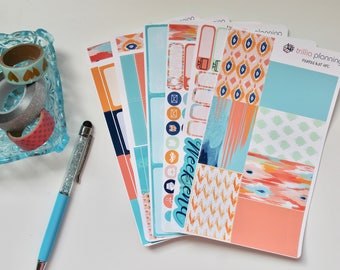 Painted Ikat - Classic Happy Planner Weekly Kit
