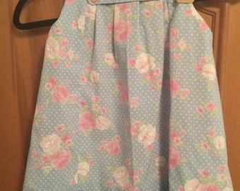 Little Blue Flowered Dress