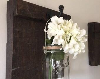 Barnboard Candle Holder or Vase